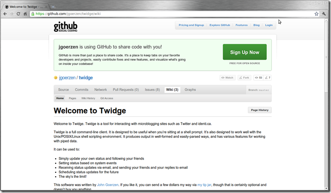 Welcome to Twidge - GitHub - Chromium_004
