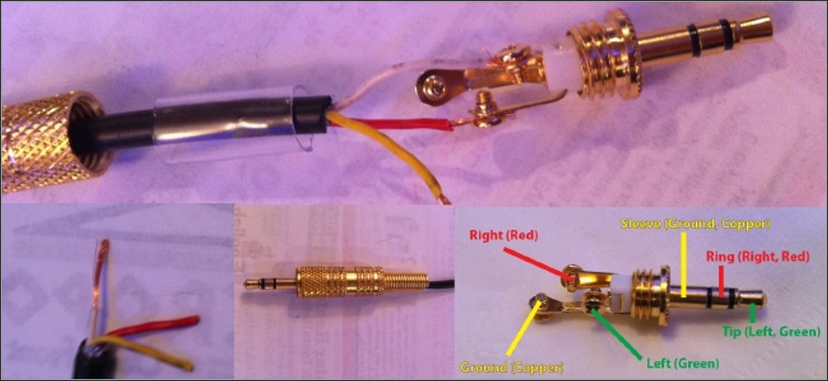 How to Replace a Stereo Connector and Salvage Audio Cables and HeadphonesHow-To Geek