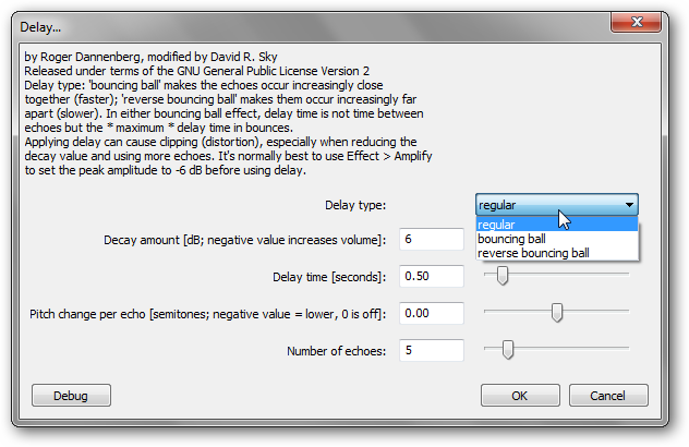 How to Use Delay, Echo, and Reverb in Audacity