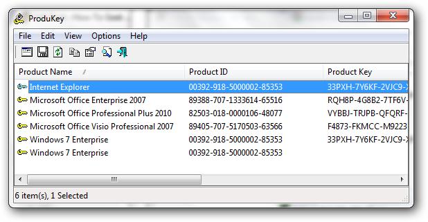 product key finder 破解