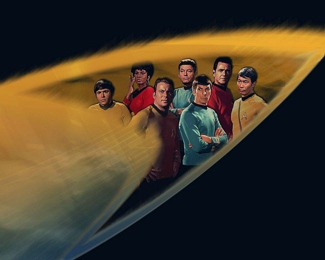 Desktop Fun Star Trek Original Crew Customization Set