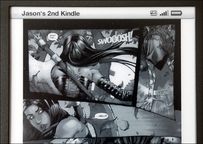 How to Read Comic Books and Manga on Your Kindle