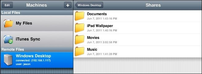 How To Wirelessly Access Network Shares from Your iOS Device
