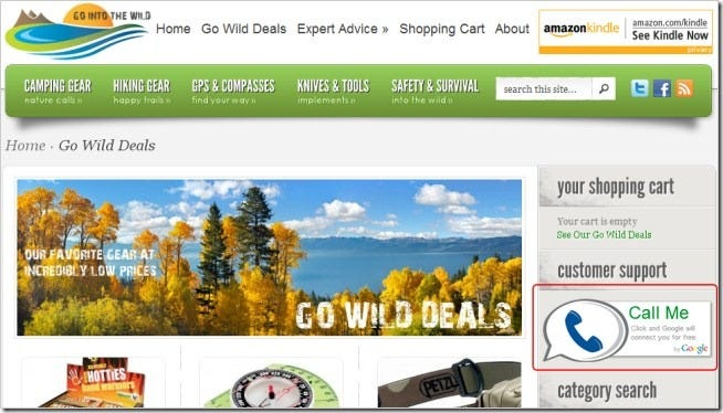 How to Add a Google Call Widget to Any Web Page - Tips general news