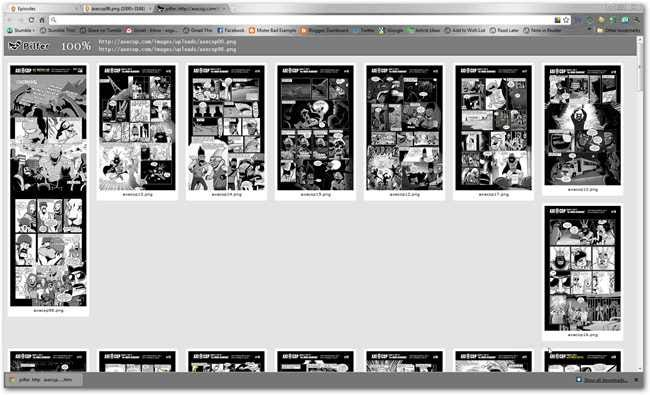 How To Read Webcomics Offline in a Comic Book Reader