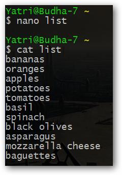 cat list