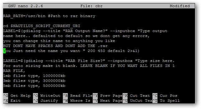cbr script