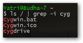 grep non-case-sensitive