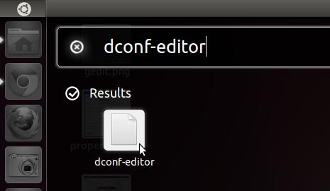 launch dconf