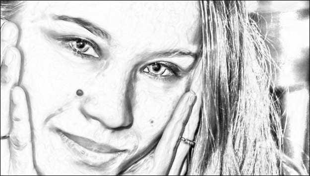 How to make photos look like pencil drawings in about one minute