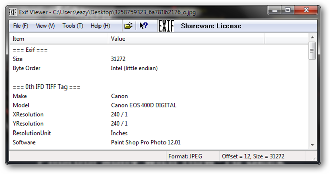 How to Use EXIF Data to Learn From Master Photographers