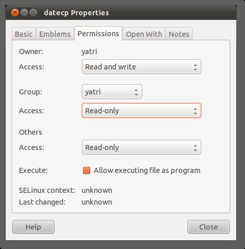 ubuntu permissions