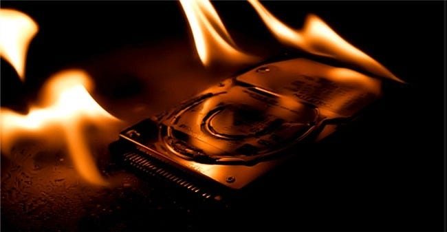 00_burning_hard_disk