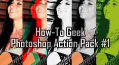 The Best HTG Photoshop Effects in One Free Download: Action Pack #1