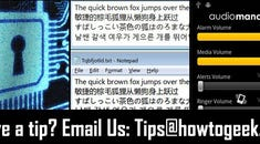 From the Tips Box: Personal Password Algorithms, Linux/Mac Font Rendering in Windows, and AudioManager for Android