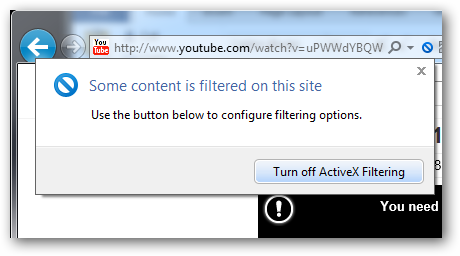 How to Help Prevent Drive-By Viruses Using ActiveX Filtering in IE9