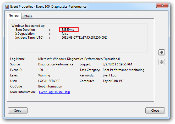How to Use Event Viewer to Find Your PC's Boot Time