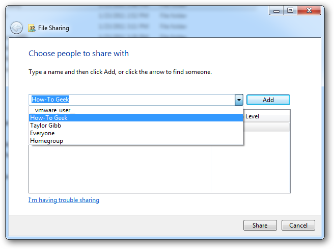 How to Understand Those Confusing Windows 7 File/Share