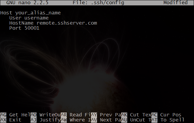 Use Your SSH Config File to Create Aliases for Hosts