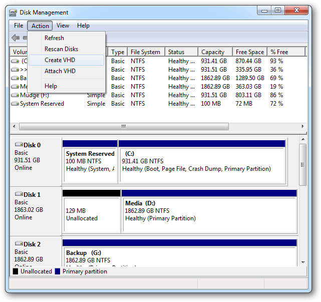 How to seamlessly dual boot windows 7 and windows 8 the easy way - Choosing the right window size ...