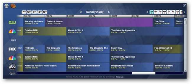 tv schedules