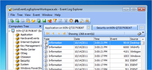 View Error Log Windows 7: Look Up Event IDs From The Event Viewer Using A Free Tool