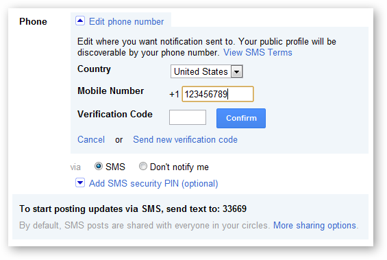 How to use Facebook, Twitter, Google+, and Foursquare via SMS - Tips