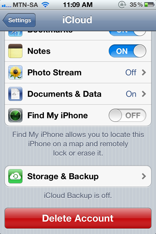 how to remotely lock or wipe your ios 5 device. Black Bedroom Furniture Sets. Home Design Ideas