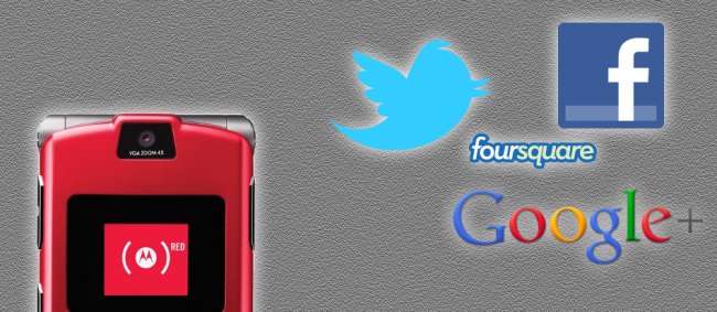 How to use Facebook, Twitter, Google+, and Foursquare via SMS