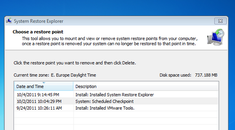 How to Mount a System Restore Point to Restore a Single File