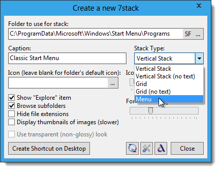 08_selecting_menu_as_stack_type