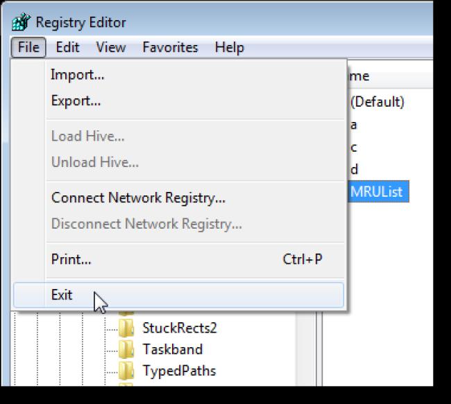 12_closing_registry_editor