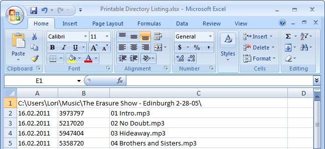 how to print or save a directory listing to a file tips general news