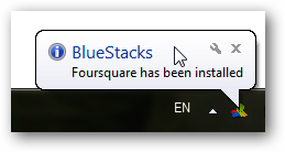 bluestacks cloud connect installed