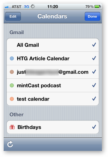 how to share google calendar on iphone how to sync your shared calendars with your iphone 20326