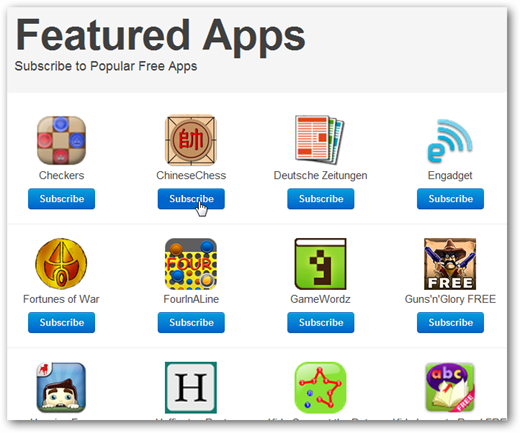 featured apps