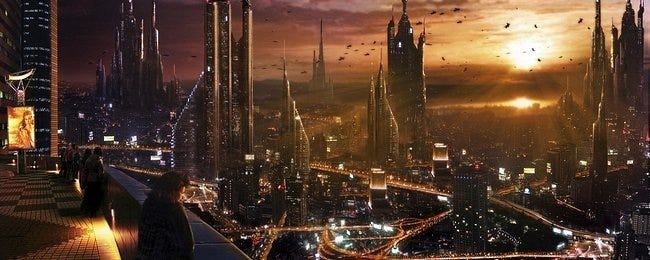 Desktop Fun Scifi Cities Wallpaper Collection Series 1 Photo