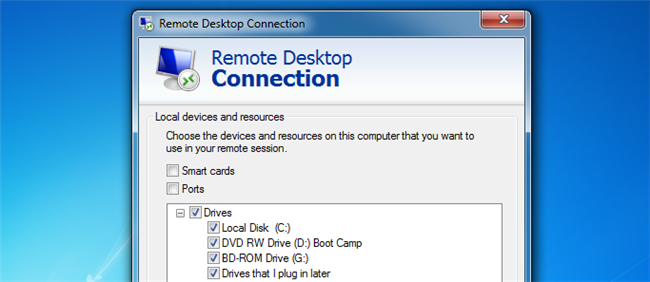 How to Forward Local Drives to Remote Machines Using Remote Desktop