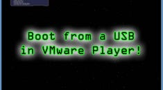How to Boot a VMware Virtual Machine from a USB Drive