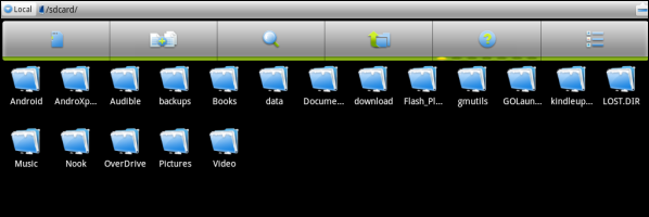 Kindle Fire File Manager