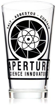 aperture pint glass