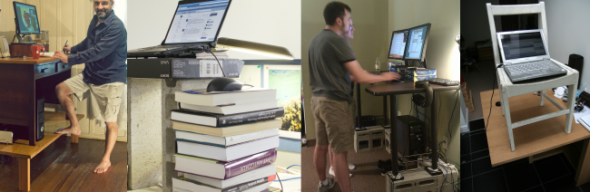 How To Modify Your Existing Desk To Make It A Standing Desk