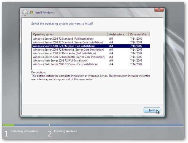 using server 2008 r2 as a desktop os installation and setup part 1 rh howtogeek com Windows 7 SSD Guide Screen Windows 7 Guide