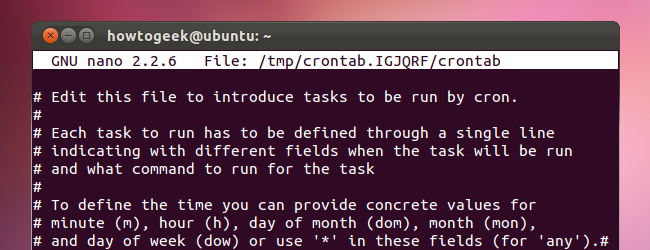 how to schedule tasks on linux an introduction to crontab files