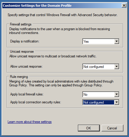 Group Policy Geek: How to Control the Windows Firewall With
