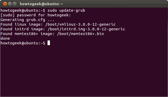 How to Password Protect Ubuntu's Boot Loader