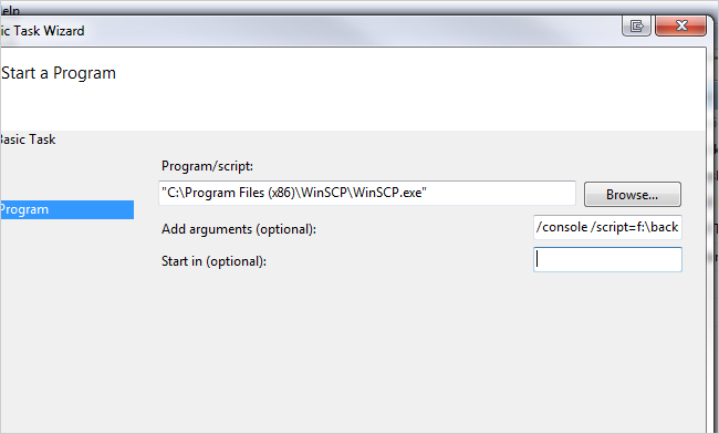 How to Automatically Backup Your Web Server Files With WinSCP over FTP