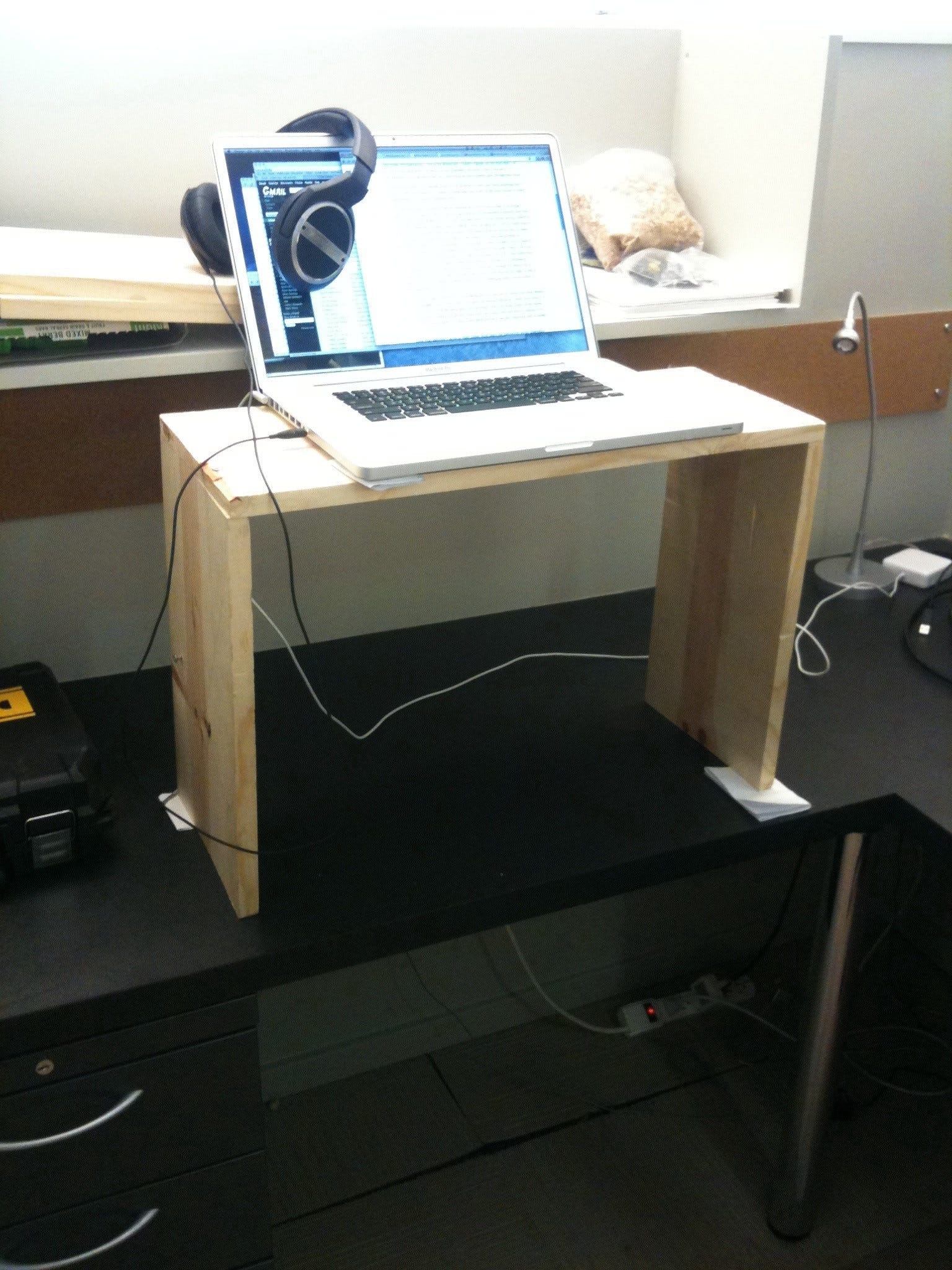 kevin jantzer desk a standing adjustable diy make