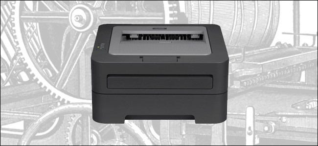 picture of a laser printer