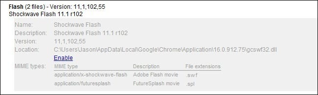 Shockwave Flash Plugin Crash Chrome Fix 2012
